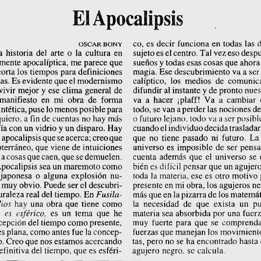 El-apocalipsis