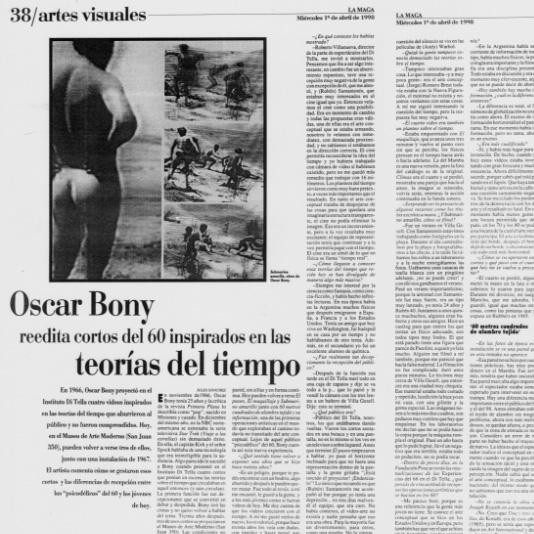 OB reedita cortos del 60